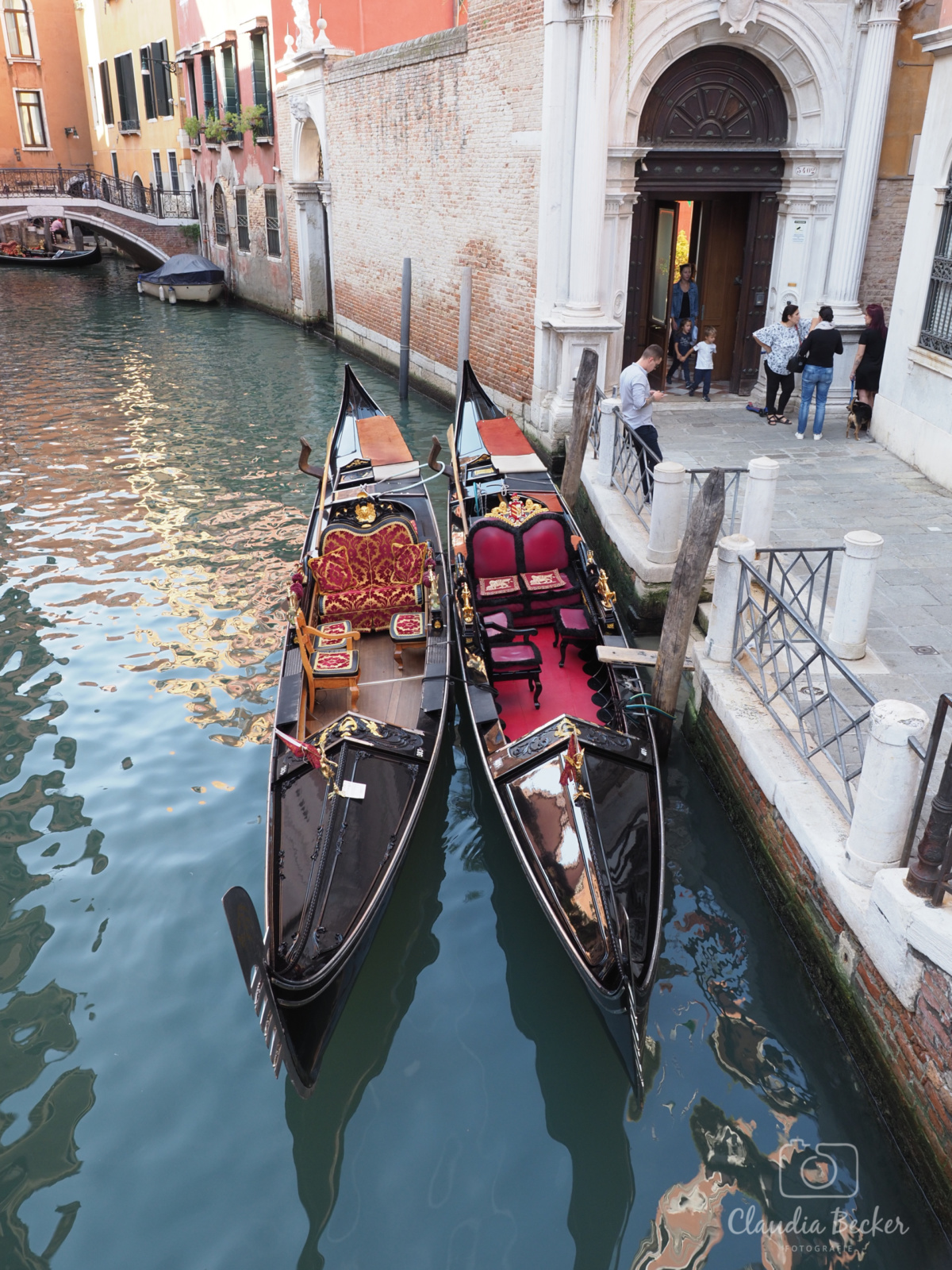 Venedig-1-Gondeln