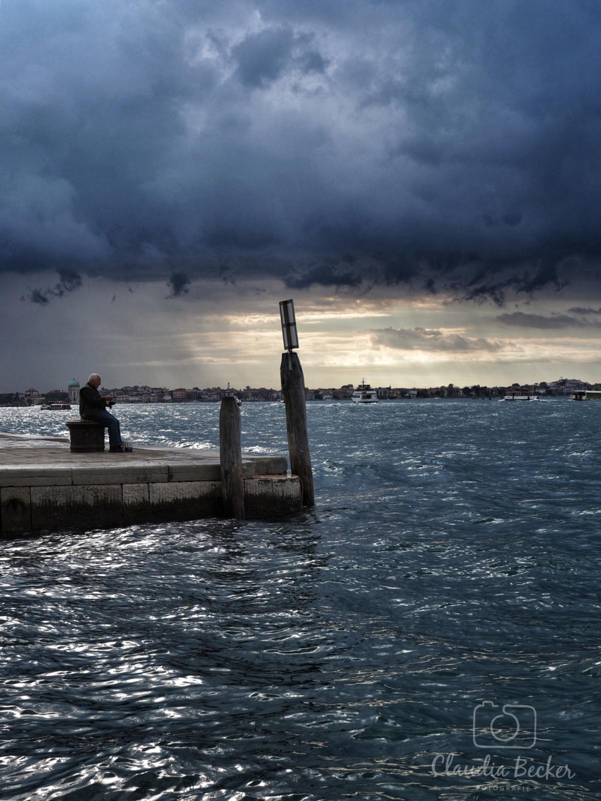 Venedig-Angler