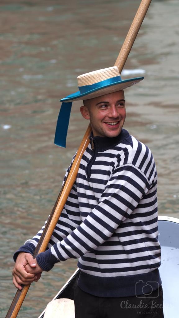 Venedig-Gondolier